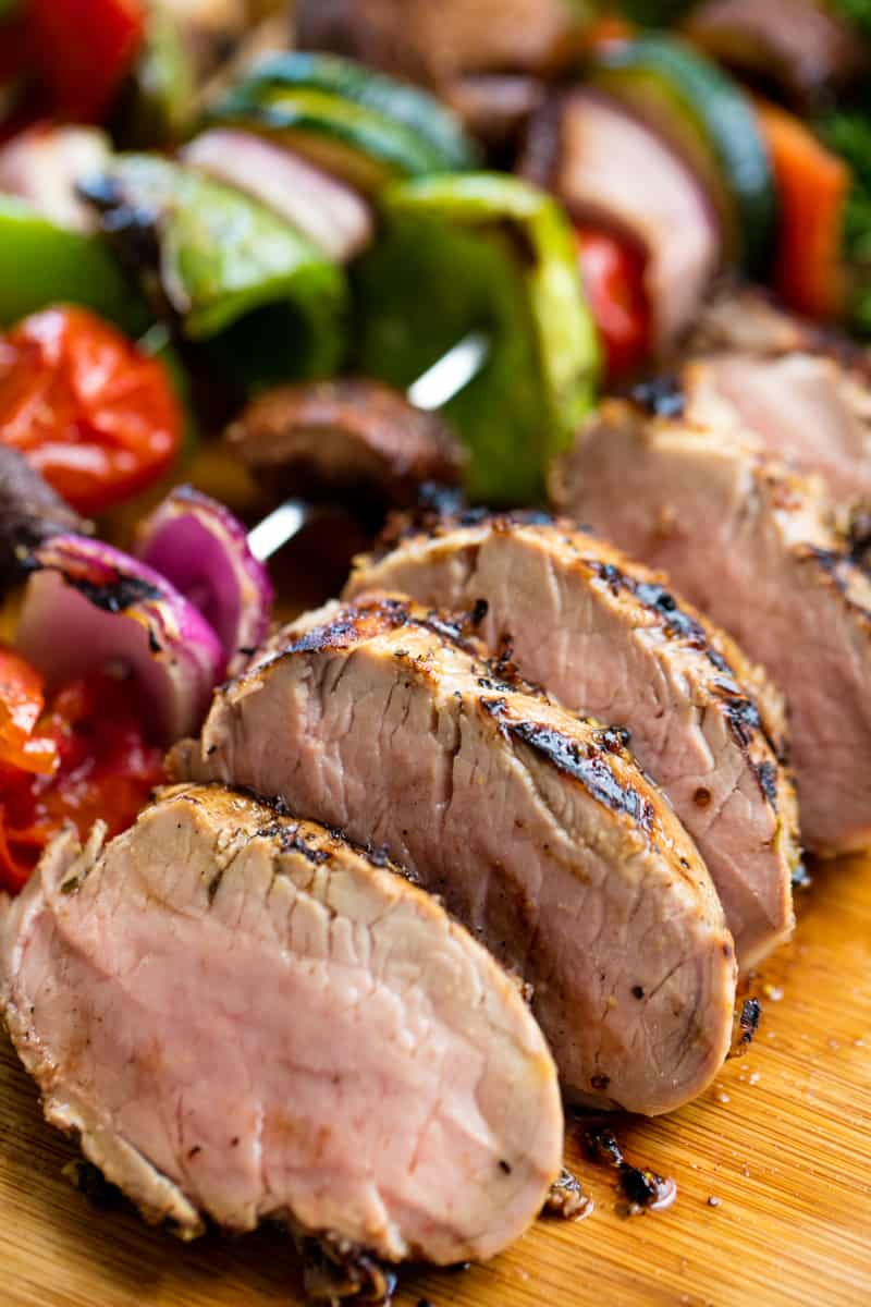 Perfectly Juicy Grilled Pork Tenderloin