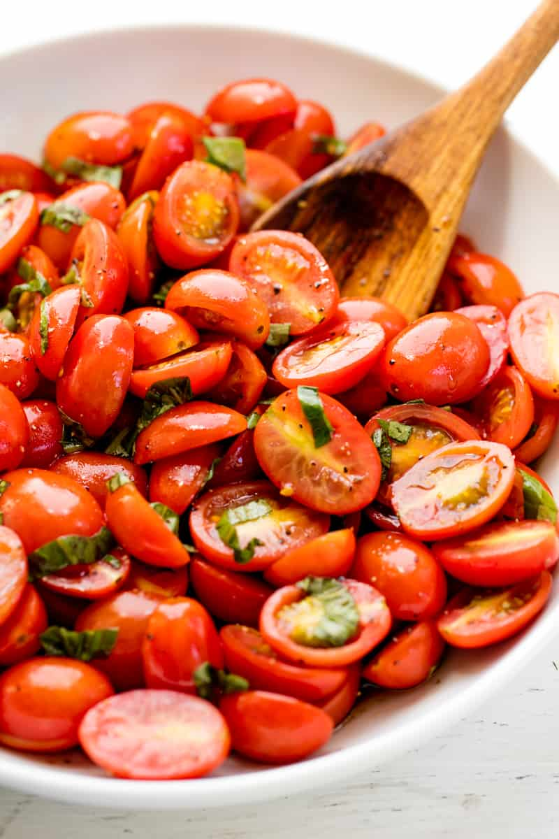 Healthy Balsamic Tomato Salad
