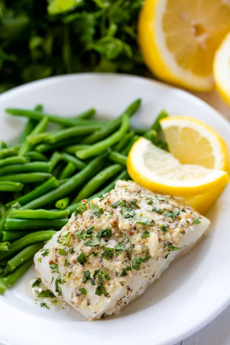 Baked Cod Fish Recipe