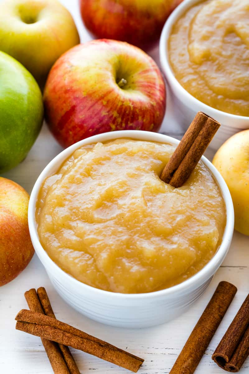 How To Make Applesauce Thestayathomechef Com