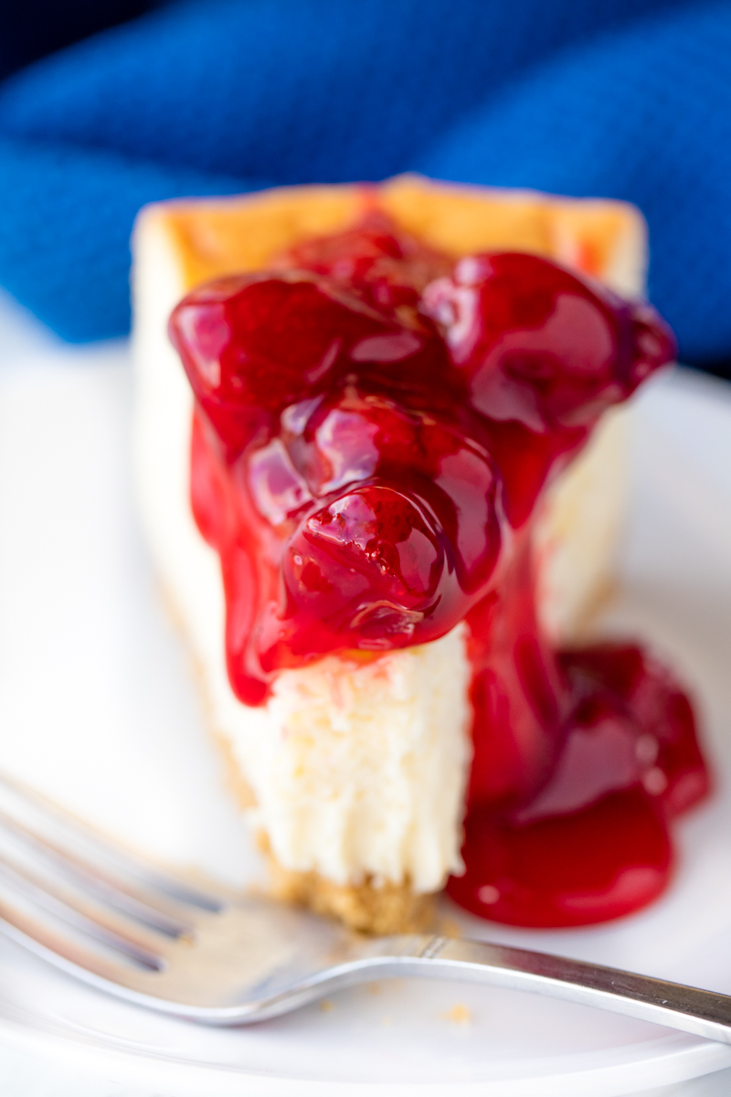 Perfect New York Cheesecake Thestayathomechef Com