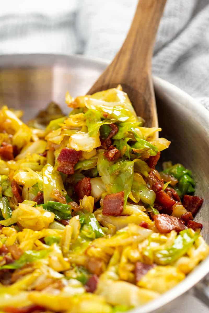 Easy Fried Cabbage