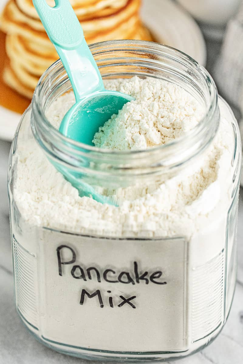 Easy Homemade Pancake Mix (Just add water!)