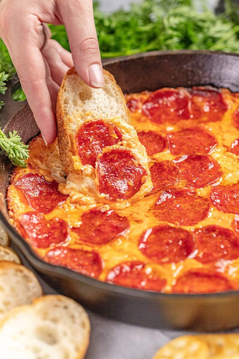 Easy Baked Pizza Dip