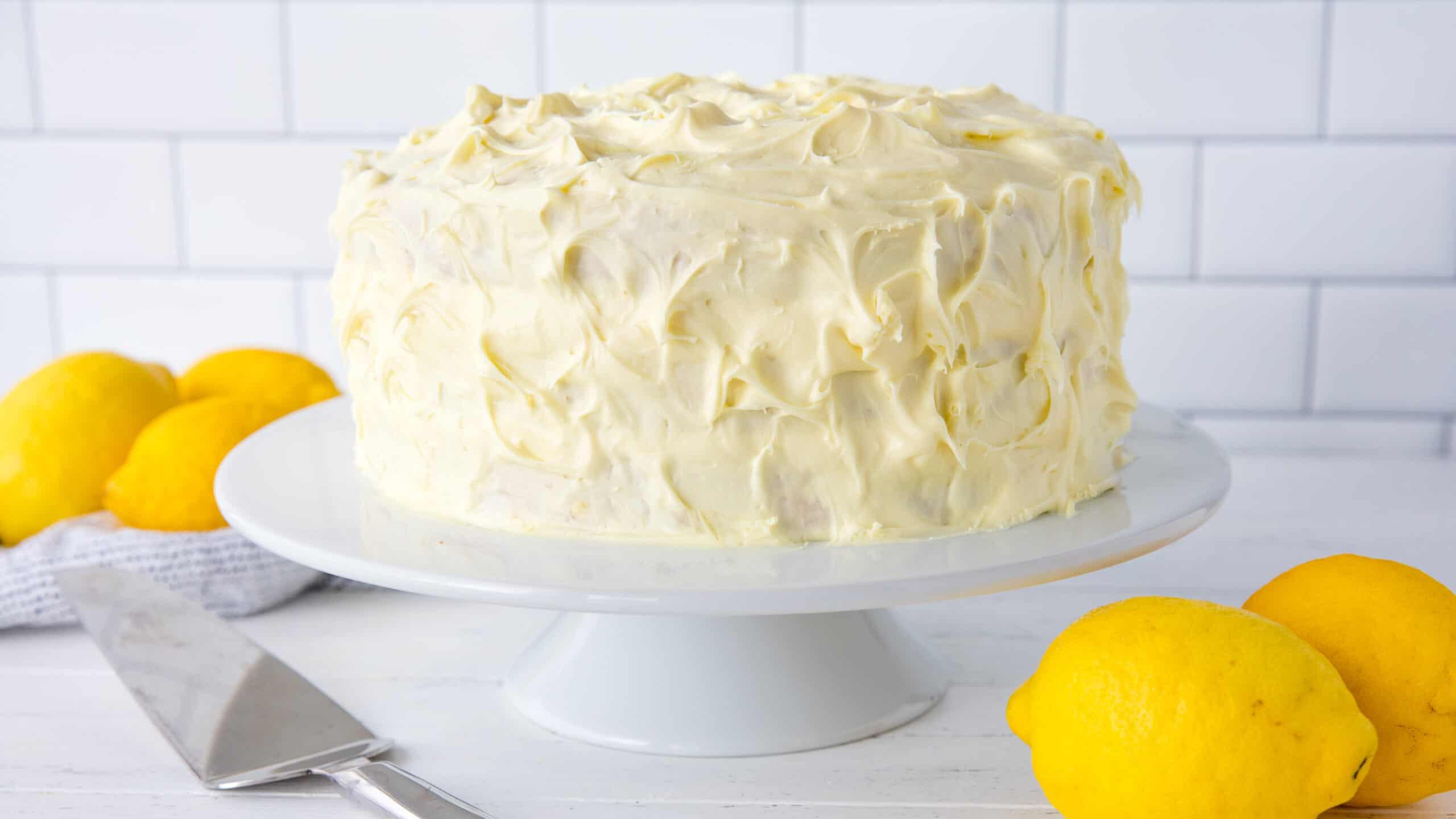 Phenomenal Luscious Lemon Cake Funny Birthday Cards Online Inifodamsfinfo