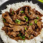 Korean Beef Bulgogi in a bowl.