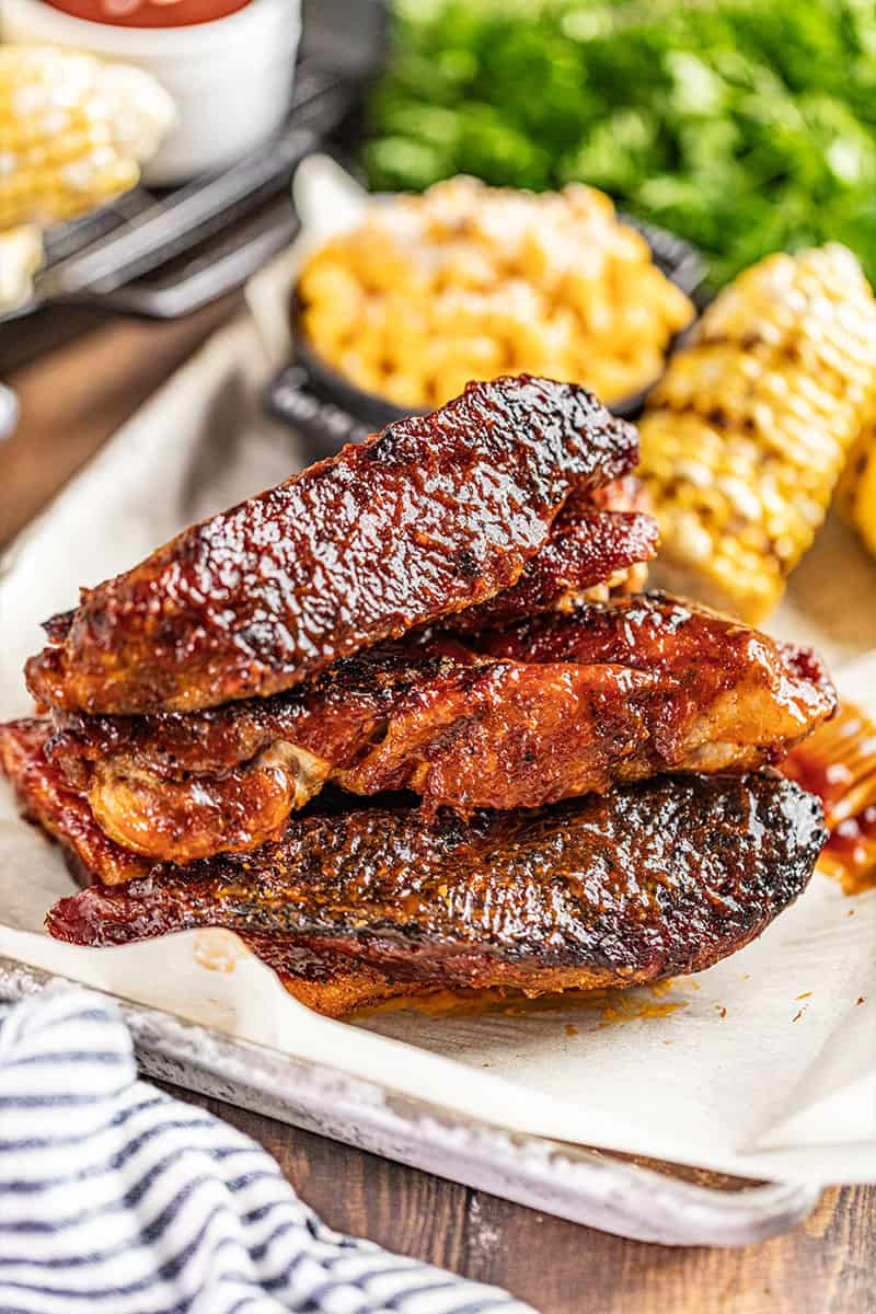 Country style pork ribs.